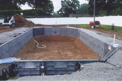 St. Louis In Ground Pool Construction