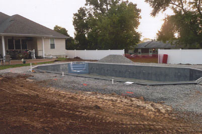 In Ground Pool Construction Process | St. Louis