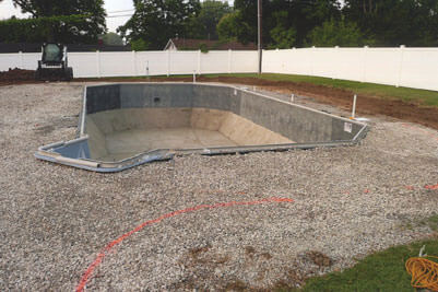 St. Louis In Ground Swimming Pool Constuction