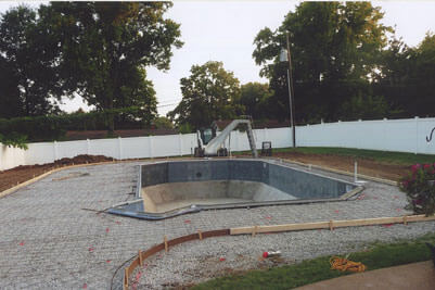 In Ground Pool Construction & Building
