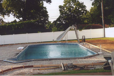 In Ground Pool Construction in St. Louis