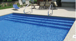Inground Pool Steps | St. Louis Pool Construction